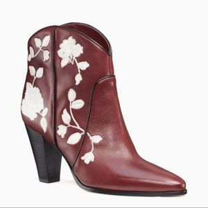 Kate Spade Dalton Embroidered Booties